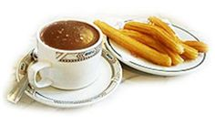 Churros by far the best things ever!!! Com cafe!!! Que Rico!!!