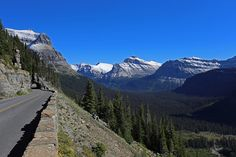Going to the Sun Road East of Logan Pass ;)