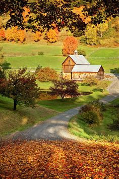 Sleepy Hollow Farm, Woodstock, Vermont; photo by Brian Jannsen