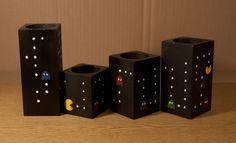 Pacman candlestick