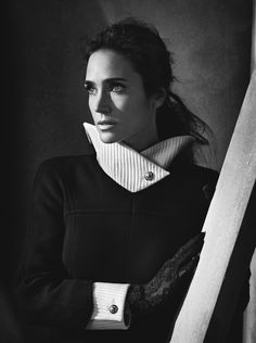 Jennifer Connelly photographed by Mark Abrahams & styled by Leslie Fremar