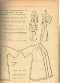 Vintage robe pattern