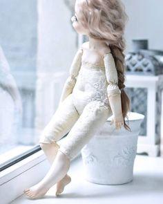 Muñecas en porcelana y tela -Muñecas en técnica mixta DaLareira