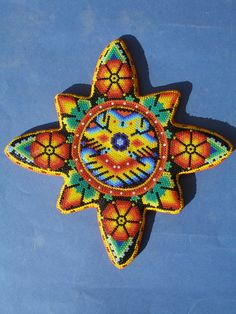 Huichol Wood Sun