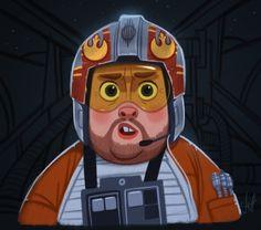 Porkins - Star Wars by jdelgado.deviantart.com on @DeviantArt