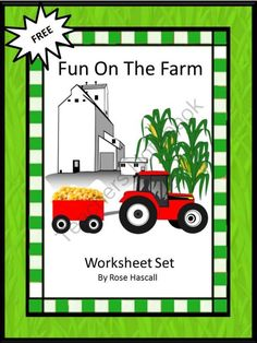 Fun Time On The Farm from smalltowngiggles on TeachersNotebook.com -  (6 pages)  - Fun Time On The Farm-Spring time is coming and the Farm community will start becoming active. There will be crops to plant, animals to take care and later, in the fall, crops to harvest. Students can get a glimpse into life on the farm with this free work