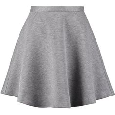 Tiger of Sweden ISELINE Mini skirt light stone grey found on Polyvore