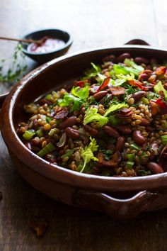 GRAINS AND BEANS Cooking with these grains, each with its own nuance and high nutritional content, can be a delectable endeavor.