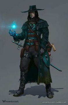 Rogue swashbuckler or assassin
