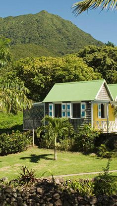 The Hermitage Plantation Inn in Nevis Island