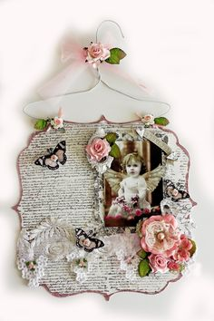I Love You Acrylic Hanging Layout **SCRAPS OF ELEGANCE** January Kit-A Dream Within A Dream - Scrapbook.com