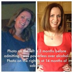 It's amazing what 14 months of sobriety can do for a person!