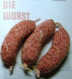 """""""Die Wurst"""" par Madame tricot"""