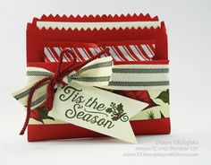 4/12/16 Weekly Deal Mini Treat Bag Thinlit treat pouch by Dawn Olchefske #dostamping #stampinup