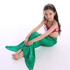 $11.98 (Buy here: https://alitems.com/g/1e8d114494ebda23ff8b16525dc3e8/?i=5&ulp=https%3A%2F%2Fwww.aliexpress.com%2Fitem%2F2016-Summer-New-Girl-Swimsuit-3-Pcs-Princess-Mermaid-Tail-Swimmable-Bikini-Set-Girls-Swimwear-Clothing%2F32699385173.html ) 2016 Summer New Girl Swimsuit 3 Pcs Princess Mermaid Tail Swimmable Bikini Set Girls Swimwear Clothing Kids Bathing Costume Suit for just $11.98