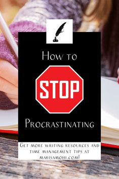 Ready to conquer your to do list and need some help? I've got tips and tricks for how to stop procrastinating. Self Development, Personal Development, Time Management Strategies, Mindfulness Activities, Planner Tips, How To Stop Procrastinating, Morning Person, Life Plan, Planner Organization