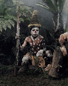 Tribu Goroka (Indonésie et Papouasie-Nouvelle-Guinée