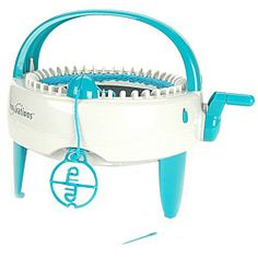 @Overstock - Complete quality knitting projects without needles with this knitting machine  Craft machine knits round tubes and flat panels  Knitting machine accepts most light to medium yarnshttp://www.overstock.com/Crafts-Sewing/Innovations-Knitting-Machine/3344329/product.html?CID=214117 $59.99