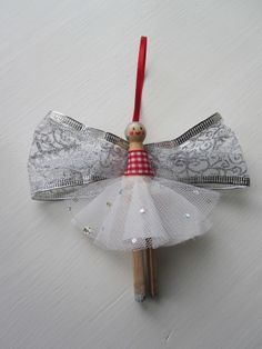 Image result for christmas peg doll angels