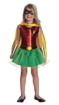 Justice League Child's Robin Tutu Dress Rubie's Costume Co. $28.99