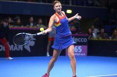 Echipa feminină de tenis a României a fost învinsă de Belgia cu 3-0 si va juca un baraj pentru mentinerea în Grupa Mondială II a Fed Cup Fed Cup, Tennis Racket, Sports, Tennis, Hs Sports, Sport