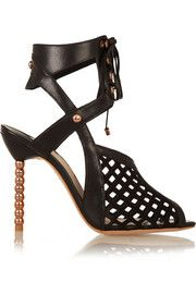 Sophia Webster is my idol. Jetta leather and suede sandals