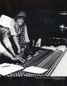 Michael Jackson  Quincy Jones Creating Music History!