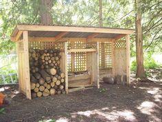 Wood Pallet Building Plans | Build a wood shed in 6 hours | SRP Enterprises' Weblog #diysheds