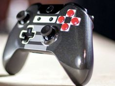 Xbox One Controller redesigned like a NES Controller THIS.....IS.....AWESOME!!!!!!!!!
