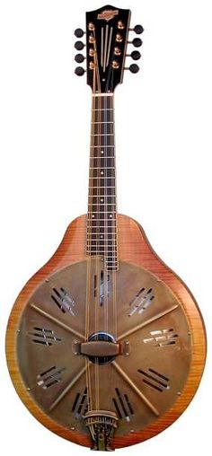 mandolin | resonator mandolin -- TweedBlog: Tangleweed's Americana Music Blog