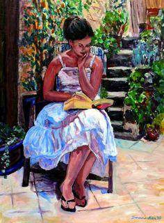 Doranne Alden (1963-...) Alexandra Leyendo Tranquila