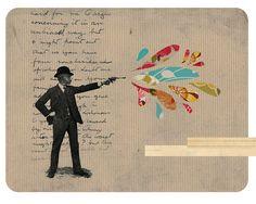 ::  Unraveled Collage: Bang Bang - Lindsay Whitehead ::