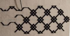 Reliquary in German Brick Stitch 14th C