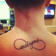 infinity sign tattoo