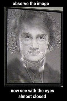 Funny pictures about Albert Einstein or Harry Potter? Oh, and cool pics about Albert Einstein or Harry Potter? Also, Albert Einstein or Harry Potter? Eye Illusions, Cool Optical Illusions, Funny Illusions, Eye Tricks, Mind Tricks, Illusion Art, Harry Potter Memes, Mischief Managed, Photos Of The Week