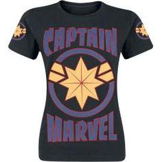 Captain Marvel Logo T-ShirtEmp.de