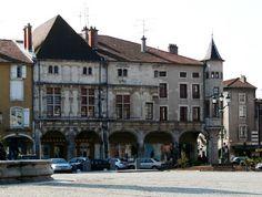Place Duroc à Pont-à-Mousson (Meurthe-et-Moselle)