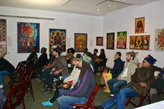 "The Art of ""A JOURNEY TO THE ROOTS OF RASTAFARI - The Art Show and Reasoning Sessions"" @ Oakstop Gallery - Oakland California 2014-1215"
