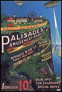 Afbeeldingsresultaat voor palisades amusement park
