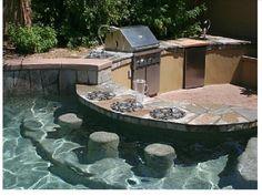 Sweet pool! Poker anyone?