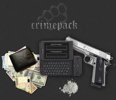 Login screen for the Crimepack exploit kit.