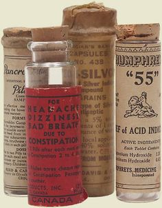 """All the important """"medicine"""" was kept in a secret place."""