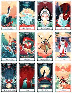 Yoshi Yoshitani is creating Illustrations and Tarot Cards | Patreon