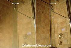 Ako vyčistiť zaschnuté kvapky na dverách sprchového kúta a skle? Je to úplne jednoduché   Chillin.sk