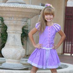 Rapunzel short set design by by tinkerellacreations on Etsy, $180.00