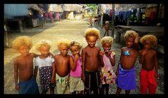 Children from solomon islands.