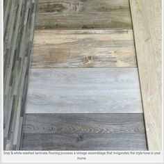 Gray-Washed floors