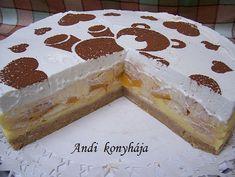 Andi konyhája - Sütemény és ételreceptek képekkel - G-Portál Tiramisu, Vanilla Cake, Ethnic Recipes, Food, Basket, Essen, Meals, Tiramisu Cake, Yemek