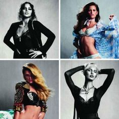 Victoria's Secret Models by Inez & Vinoodh for Vogue Paris March 2011