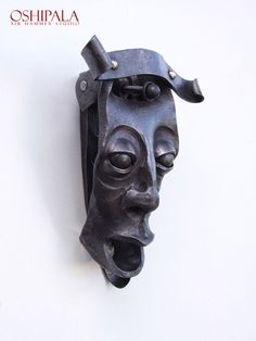 Door Knocker from Finnish blacksmith Jesse Sippola. oshipala.com